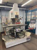 "Bridgeport Series II Interact 4 vertical milling machine, Serial No. 61877 (1994), table size 38"""