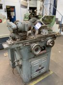 """Jones & Shipman cylindrical grinder, Serial No. n/a, table size 16"""" x 4"""" with coolant tank & steady"""