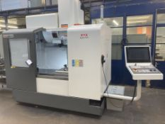 XYZ 800 HD CNC 3 axis vertical machining centre, Serial No. SM010148 (2020), working table 920mm x