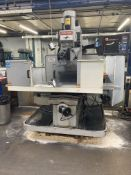 XYZ SMX 4000 CNC 3 axis vertical bed milling machine, Serial No. 11595 (2012), table size 1474mm x