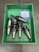 5x HD40 CNC machine chuck collets & tools