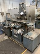 """Jones & Shipman 1400L horizontal surface grinder, Serial No. BC97283 with 9"""" magnetic chuck, coolant"""