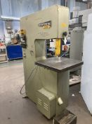 Startrite 20 RWF vertcial bandsaw, Serial No. 74520, 3 phase, 501mm throat with BS016 welding unit