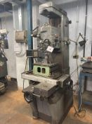 Elga vertical boring machine, Serial No. 5671-25, table size 600mm x 300mm, speeds 95-2070 with