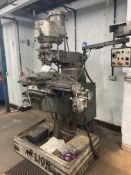 Bridgeport Lion 2VS vertical turret milling machine, Serial No. 0298 (1997), table size 230mm x