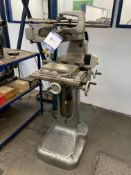 """Newall Type D pantograph engaving machine with 10"""" x 5"""" magnetic chuck, etching attachment &"""