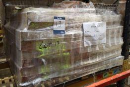 72x Amber Clear Wrap Roll 508X1522 Total Retail: £216; 96x Heavy Duty Utility Knige - 7335 Total