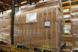 500x Bocking SCLR NOT 190g 76X56cm Total Retail £875; 40x Choco Queres 500X700 26 Sheets Total