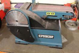 """Erbauer ERB707BTS 4"""" x 6"""" belt and disc sander, Serial No. 18W12-00259"""