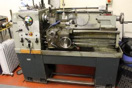 Colchester Student 1800 gap bed centre lathe Serial No. 4/0008/02581, capacity: 330mm x 635mm, swing
