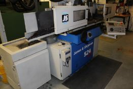 Jones & Shipman 524 Easy 3 axis CNC profiling surface grinder, Serial No. S019832, table length: