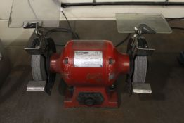 """Sealey 150mm 6"""" double ended bench grinder, Serial No. 000598"""