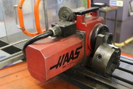 Haas HA5C single-axis rotary unit, Serial No. 5262, collet size: 5C, max torque: 60ft-lb; max speed: