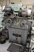 Myford cylindrical grinder Serial No. S92365FP with motorised work head, Serial No. WS93609FP, wheel