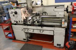 XYZ Machine Tools 1400 gap bed centre lathe, swing over bed: 356mm, swing in gap: 559mm, distance