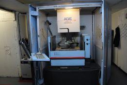 Agie Agiecut Progress 2 wire cut EDM machine, Serial No. 307 (2006), voltage: 3x 400V, Frequency: 50