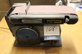 "Fox F31-462 4"" x 36"" 230V disc & belt sander, belt width: 100mm, disc diameter: 150mm"
