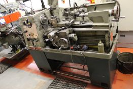 Colchester Student 1800 gap bed centre lathe Serial No. 4/0002/03671, capacity: 330mm x 635mm, swing