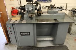 Hardinge Super Precision DSM 59 variable speed toolroom lathe, swing over bed: 229mm, length of bed: