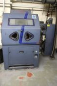 Guyson Euro 6 SF Plus System shot blast cabinet, Serial No. 802713 (2001), size: 1,070mm x 778mm x