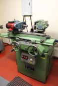 Jones & Shipman 310T tool and cutter grinder, Serial No. BO 94886 with pair of centres; motorised