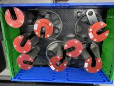Elephant feet, set of 4 for use with 230mm air jack (for lifting a racing car - AP air jacks is