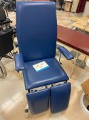 Doherty treatment room adjustable therapy chair