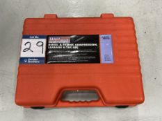 Sealey professional tools VSE 3156 petrol or Diesel compression leakage and TDC test kit