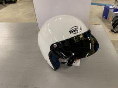 Sparco ECR22.05 open face racing helmet size 59-60 (Unused)