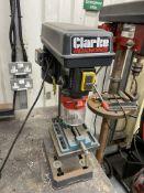 Clarke Metalworker CDP101B bench pedestal drill, 5 spindle speeds, 500-2500 R.P.M.