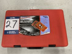Sealey professional tools VSE 210 fuel injection pressure test kit