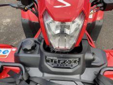 Honda TRX500 Fourtrax Foreman Rubicon 4x4 quad bike, recorded mileage 181 miles. including Moose top