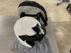 Sparco Jet Pro 2013 open face racing helmet with cover and storage bag size L- 63 (Used)
