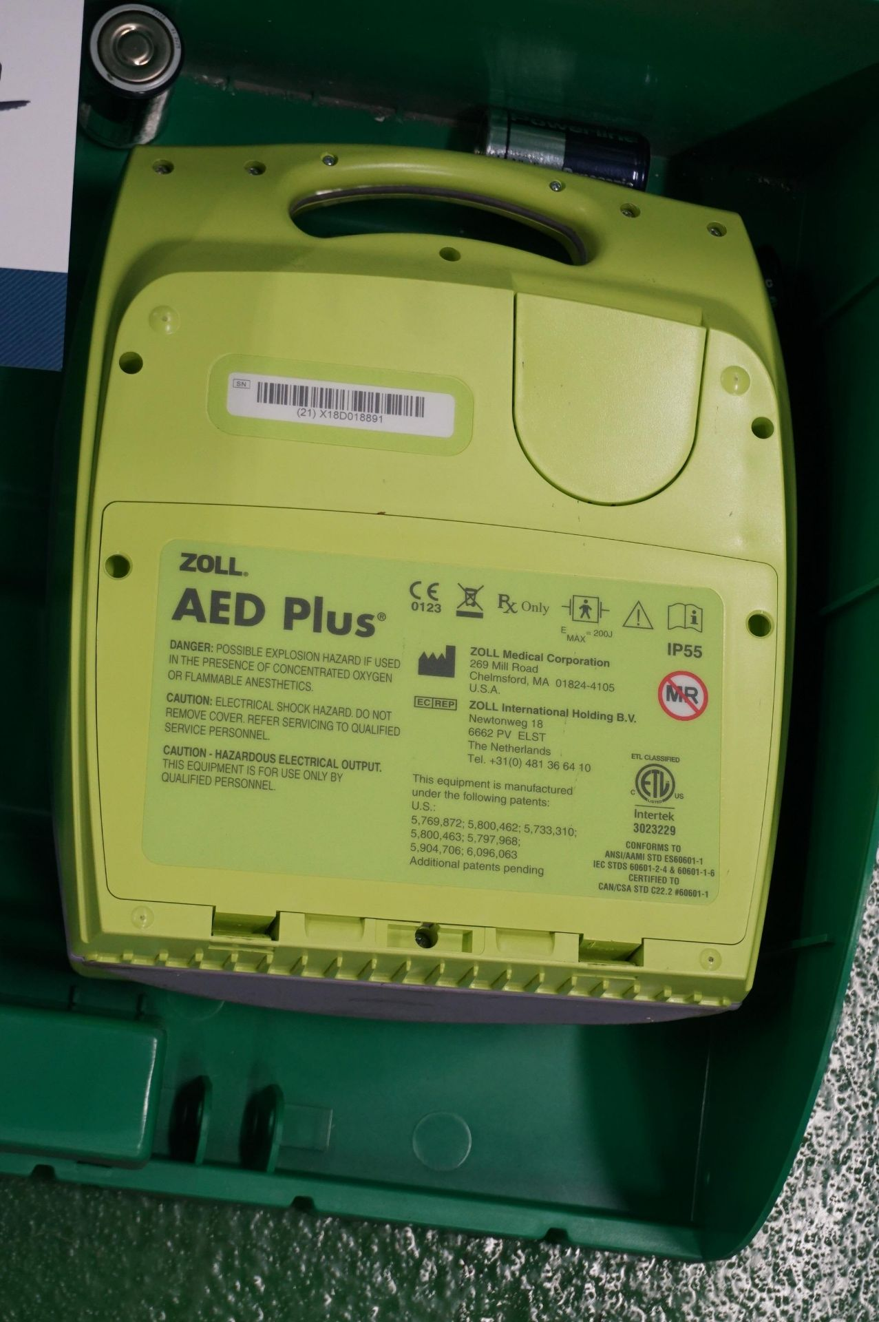 2 x Zoll AEDPLUS Avia 100:X2A100-XX100 battery operated defibrillator - Image 3 of 3