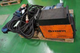 Motoman YR-EA1400N-B00 6 axis MiG welding robot with a Kemppi KempArc Pulse 350 MiG/MaG welder