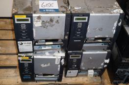 4 x Toshiba TEC B-SX5T-TS22-QM-R SX5 RFID ready barcode/label printers