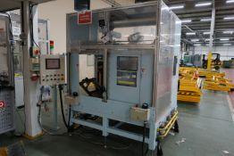 Ultrasonic automated foam slitting machine