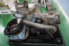 Panasonic 6 axis MiG welding robot with Panasonic YD-350RF2 digital interface
