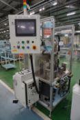 Sensor to rail assembly machine