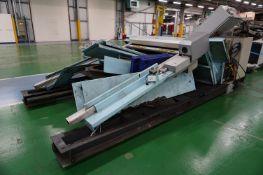 Box frame mounted MiG welding robot cell with Motoman NX100 robot controller