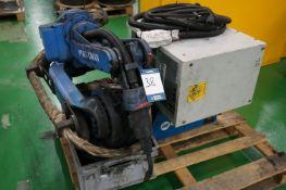 Motoman YR-FA1400N-B00 6 axis MiG welding robot with a Panasonic YD-350RF2 digital interface and a M