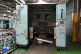 Box frame mounted MiG welding robot cell with 2 x Panasonic TM1400WG III 6 axis robot