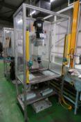 Hydraulic spin rivet machine with Yoshikawa US-150 E-H rivet spinner