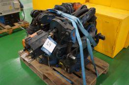 1 x Motoman EA1400N-B00 6 axis MiG welding robot Kemppi KempArc DT400 wire feeder with 1 x Motoman Y