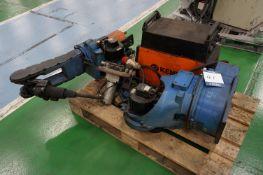 Motoman 6 axis MiG welding robot with a Kemppi KempArc Pulse 350 MiG/MaG welder