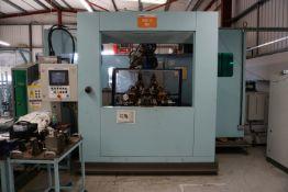 Box frame mounted MiG welding robot cell with Motoman 6 axis MiG robot