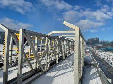 Aluminium Gangway / Walkway - L: 14m x W: 1.9m x H: 2.35m. 2 of 2