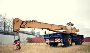 Coles Husky 36/40 TSC Rough Terrain Mobile Crane