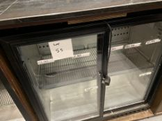 DOUBLE GLASS DOOR BOTTLE FRIDGE