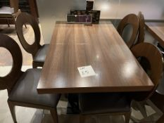 TABLE 700 x 1100 - 4 Chairs